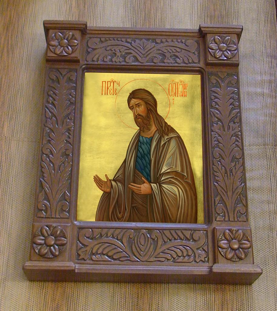 Икона Святой Пророк Иоанн Предтеча